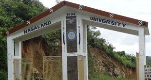 Nagaland University Vacancy 2018